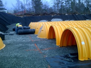 New Bedford School StormTech - Assembly of discharge piping