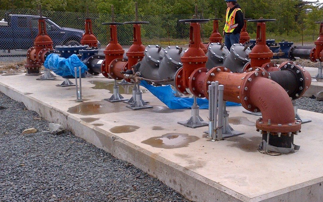 RCMP Headquarters Backflow Preventors